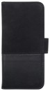HOLDIT Wallet Case magnet 6s,7 - Black Leath/Sued